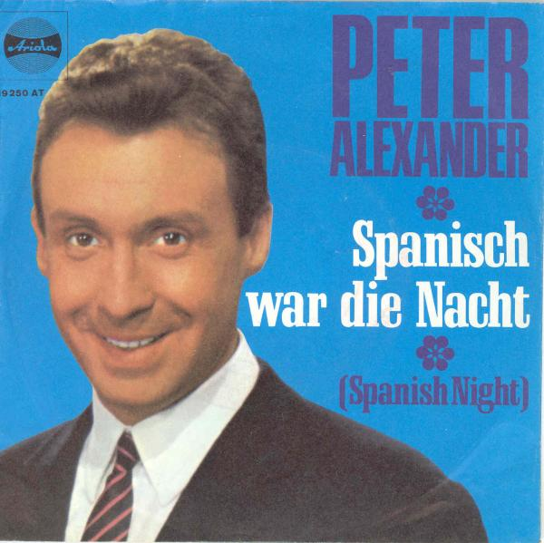 Alexander Peter - Spanisch war die Nacht (blaues Cover) - alexander_peter_19250_diff