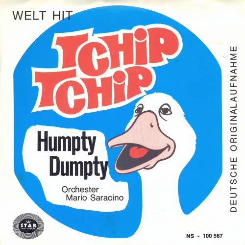 Mario Saracino - Tchip Tchip / Humpty Dumpty